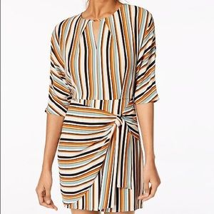 Dresses & Skirts - Striped Multi Color Dress